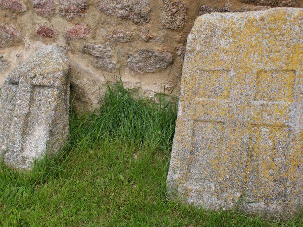 Landštejn – křížové kameny