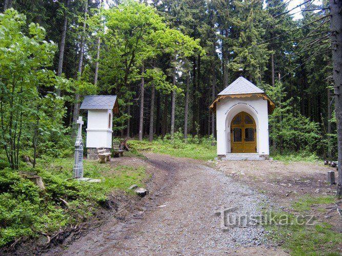 Lesní kaple Panny Marie