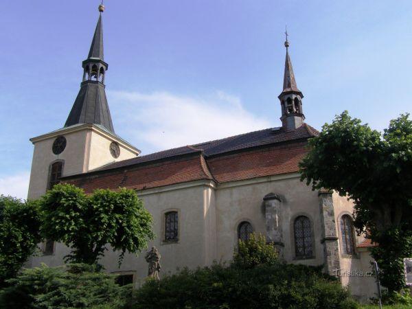 Libuň - kostel sv. Martina