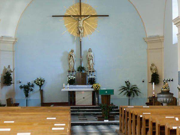 Lipová lázně – kostel sv. Václava