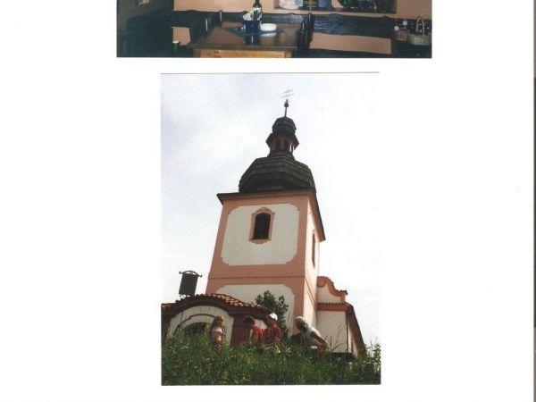Lštění - Kostelík sv. Klimenta/okr. Benešov/