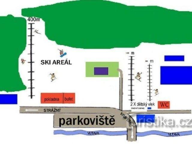Lyžařský areál Horní Vltavice