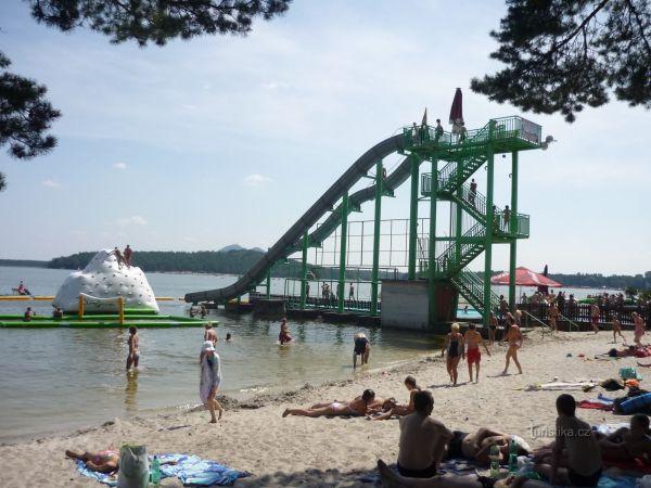 Máchovo jezero - Aquapark Staré Splavy