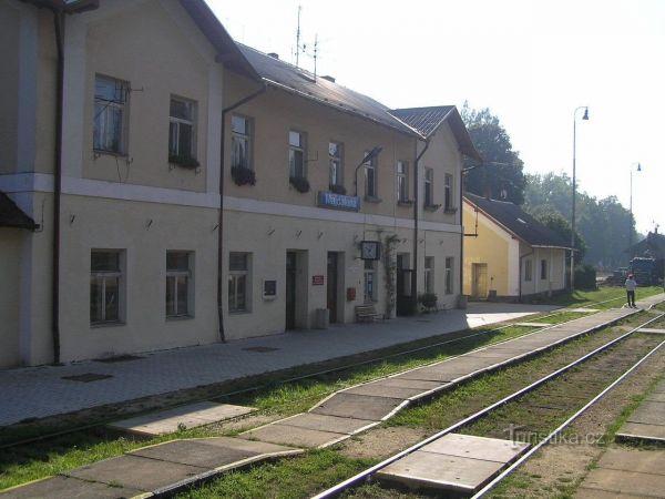 Majdalena zastávka - železniční stanice