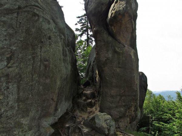 Medůvka - horolezecké skály