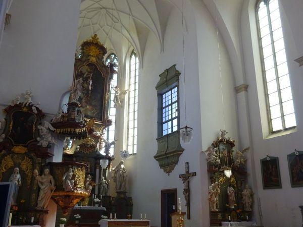 Město Sobotka a děkanský kostel svaté Máří Magdalény
