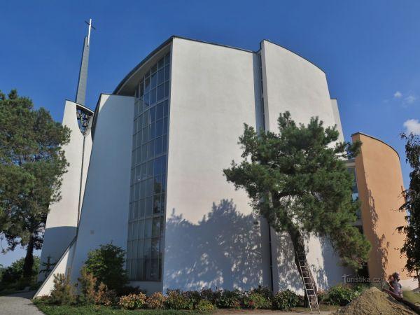Moravský Žižkov - kostel Panny Marie Vítězné