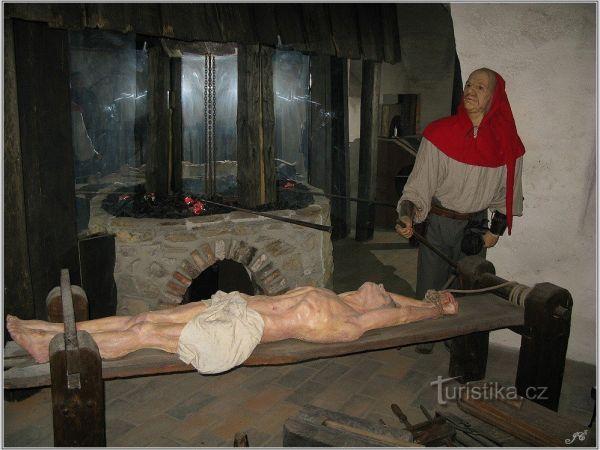 Muzeum tortury v Českém Krumlově