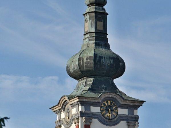 Nová Bystřice – kostel sv. Petra a Pavla