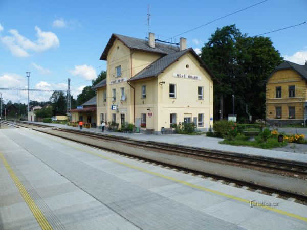 Nové Hrady - železniční stanice