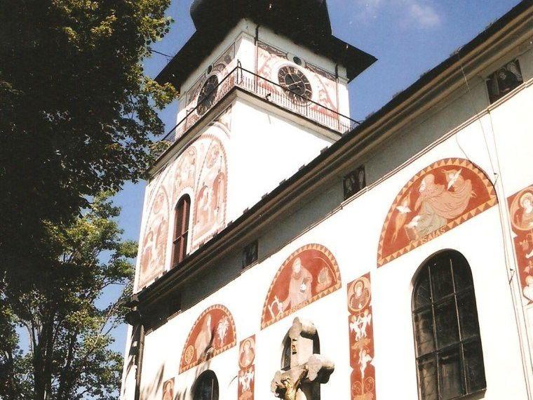Nové Město na Moravě - kostel sv. Kunhuty