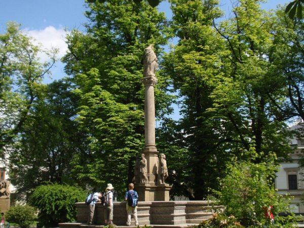 Nové Město na Moravě - sloup sv. Anny