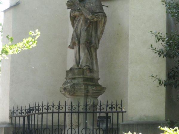 Nové Město na Moravě - socha sv. Jana Nepomuckého