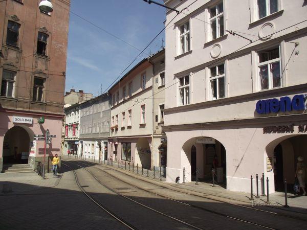 Olomouc – Rozdělovací třída (Rychlé šípy: Záhada hlavolamu)