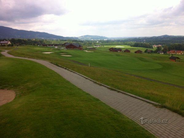 Ostravice - golf