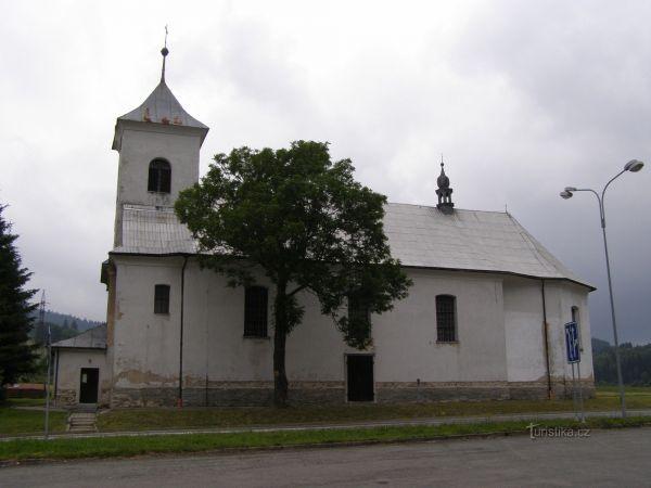 Ostružná - kostel Tří Králů