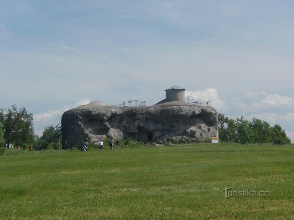 Pevnost Dobrošov - srub Můstek