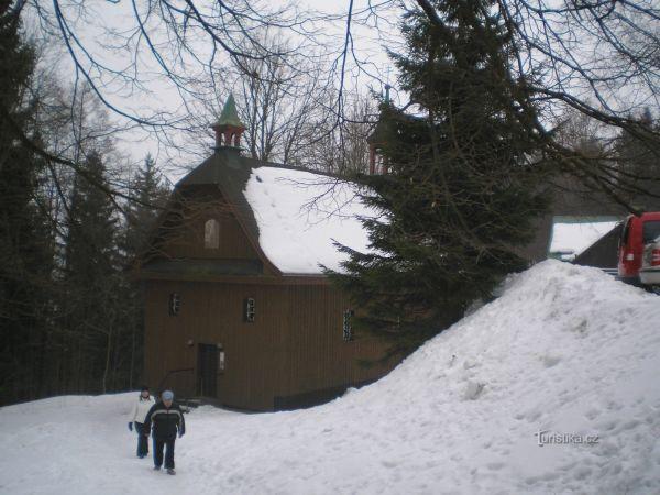Poutní kaple blahoslavené Panny Marie v Dřísi