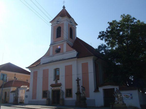 Poutní kostel sv. Anny v Žarošicích