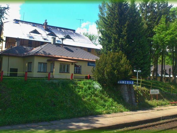 Ramzová - železniční stanice