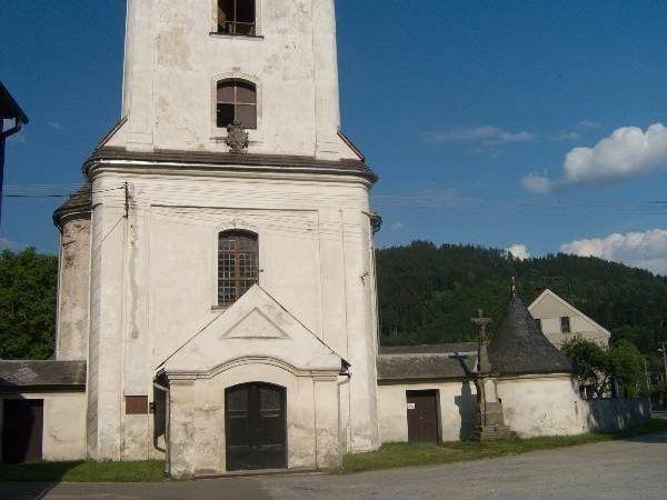 Raškov - kostel sv. Jana Křtitele