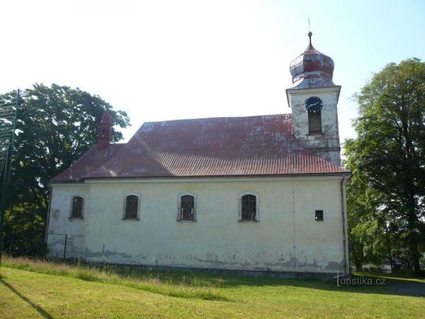 Říčky kostel