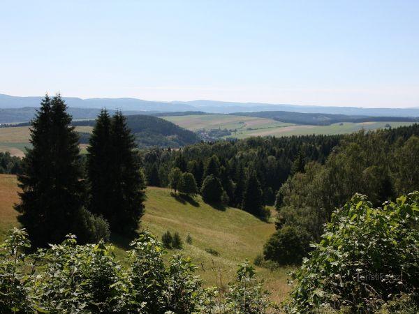 Rozcestník na Jedlovém vrchu