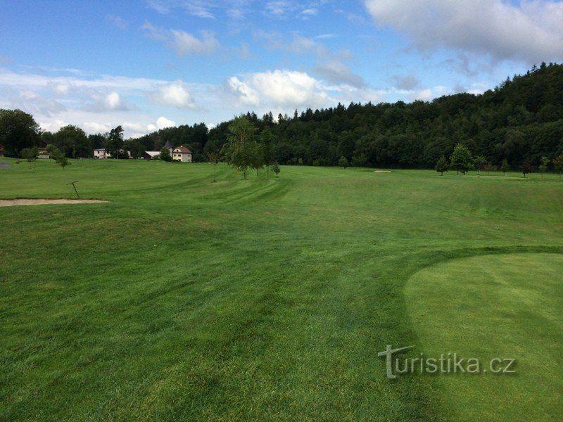Rožnov - golf