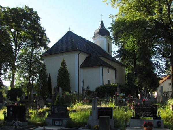 Růžďka - katolický kostel