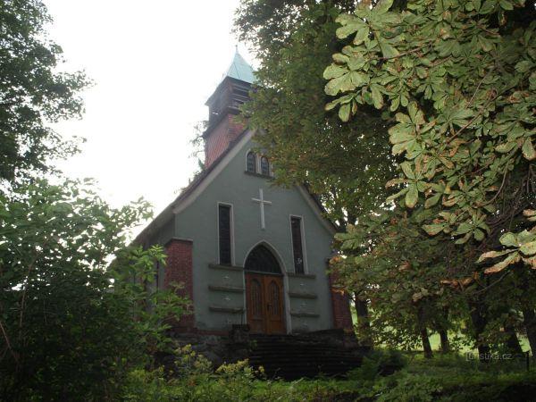 Sakrální památky v obci Strážné v Krkonoších