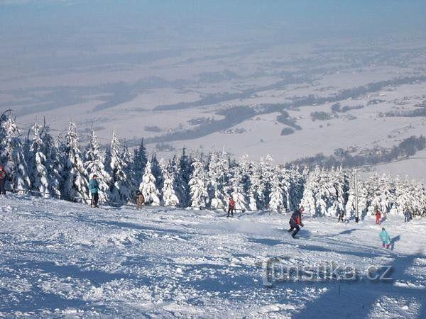 ski areál Javorový Vrch