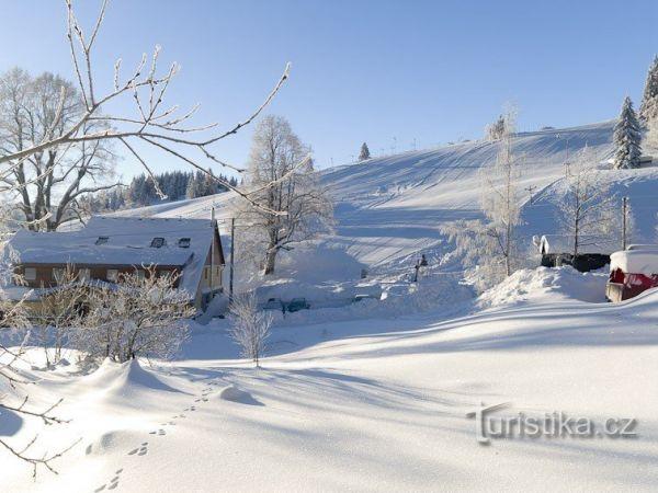 Ski areál Ostružná