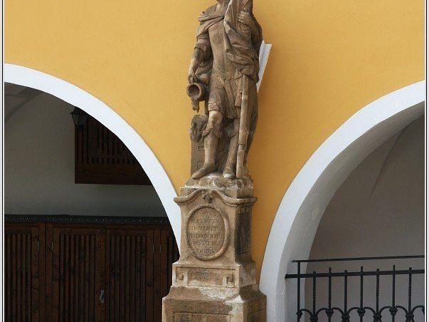 Socha sv. Floriána v Žacléři