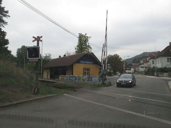 Staré Splavy - železniční stanice