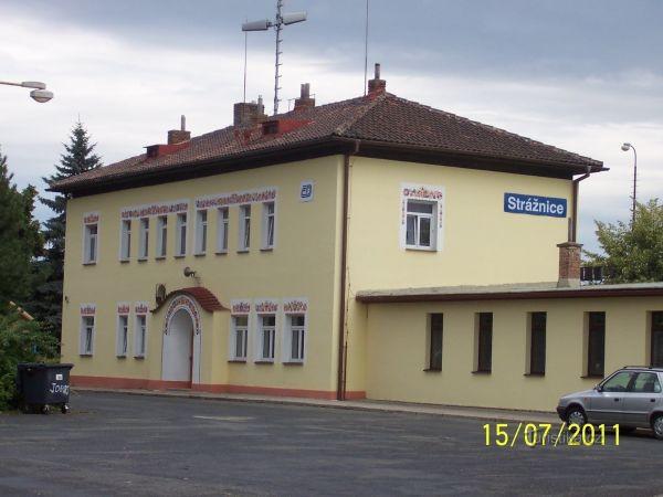 Strážnice - železniční stanice