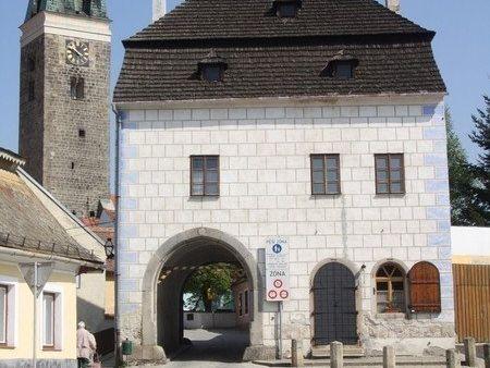 Telč - Horní(velká) brána