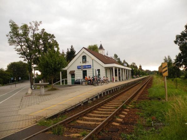 Třeboň lázně - železniční stanice