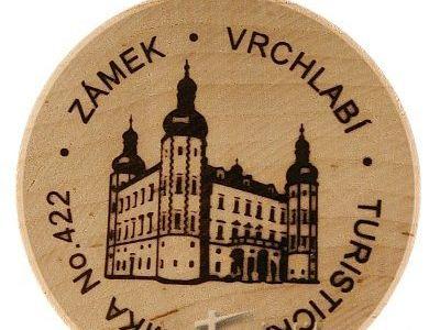 Turistická známka č. 422 - Vrchlabí