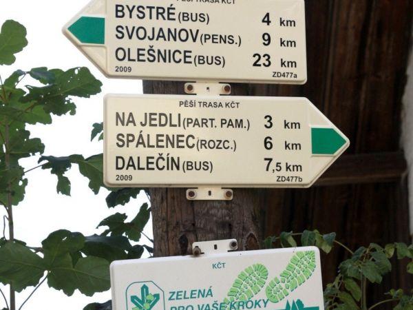 Turistické rozcestí Sulkovec