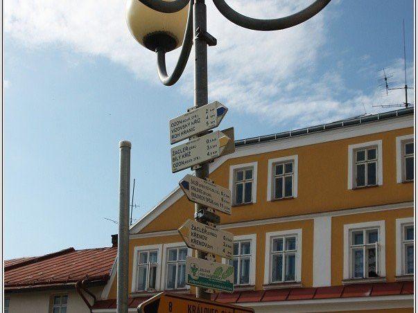 Turistické rozcestí Žacléř, Rýchorské náměstí