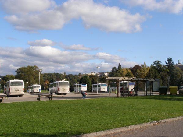 Turnov - autobusové nádraží