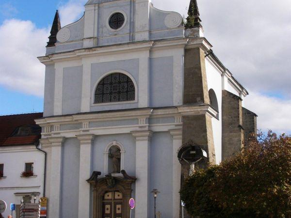 Turnov - kostel sv. Františka z Assisi