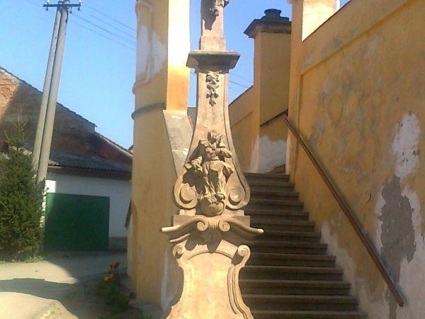 Úsov - kříž sv. Jiljí