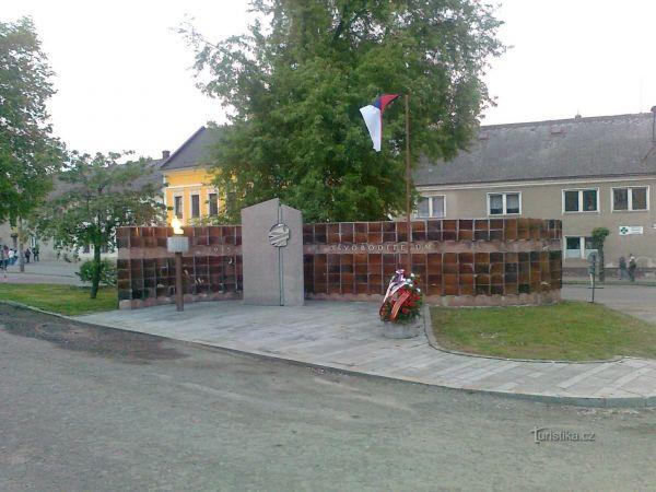 Úsov - Památník obětem 2. světové války