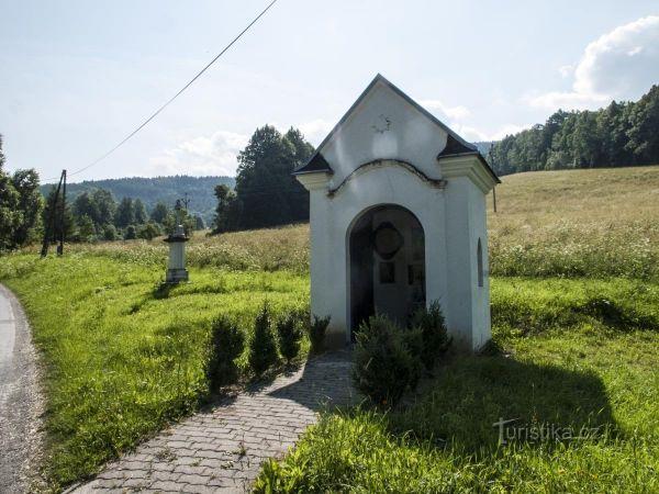Vernířovice - kaple přeživších 1. světové války