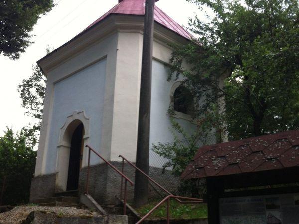 Vlčetín - Kaple sv. Jana Nepomuckého