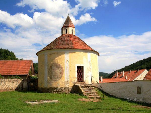 Vranov nad Dyjí - kaple sv. Ondřeje