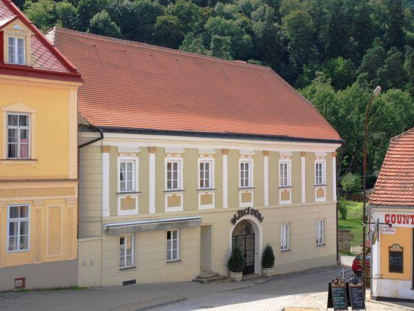 Vranov nad Dyjí - Pážecí dům