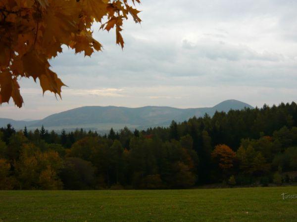 Výhled na Vraní hory