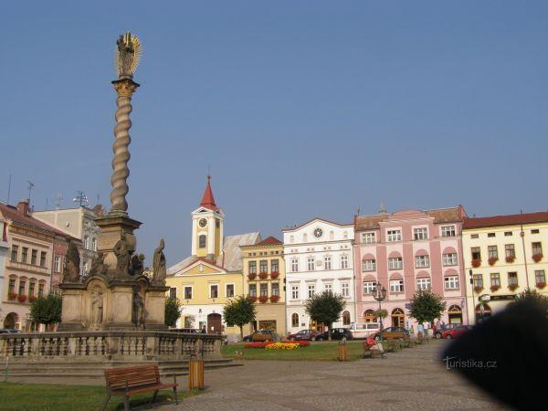 Webkamera - Broumov, náměstí